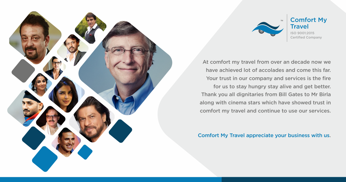 About us Comfort my travel