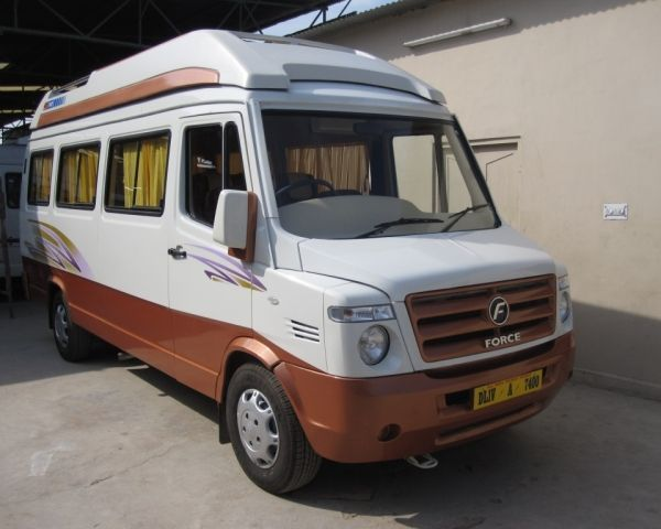 13 Seater Tempo Traveller In Lucknow Comfort My Travel