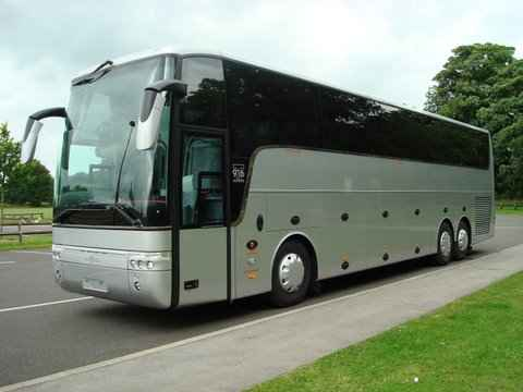 49 Seater Luxury Volvo Bus In Lucknow Comfort My Travel