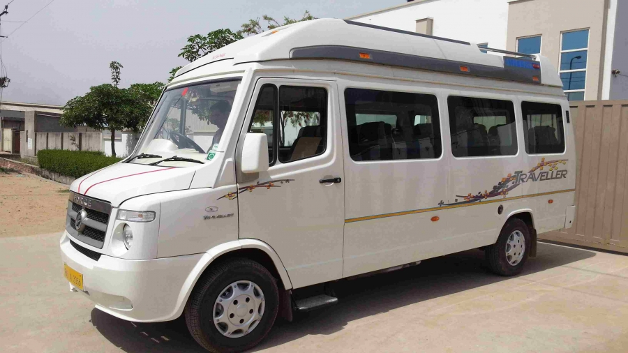 26 Seater Tempo Traveller In Lucknow Comfort My Travel