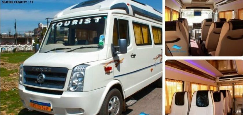 17 Seater Tempo Traveller In Lucknow Comfort My Travel