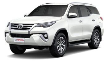 Taxi Service Lucknow Outstation Rent Fortuner