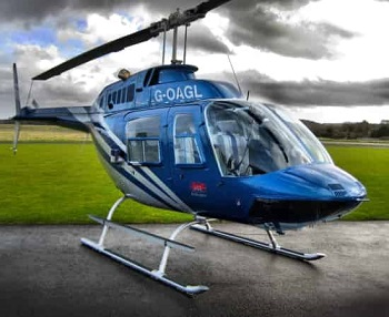 Helicopter rental service
