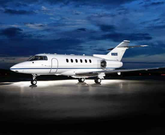 hawker850 Aircraft on rent