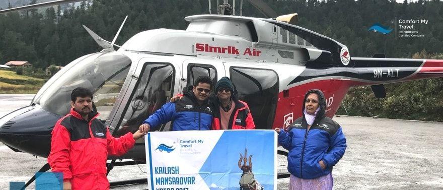 Kailash Mansarovar Yatra by Helicopter 2018