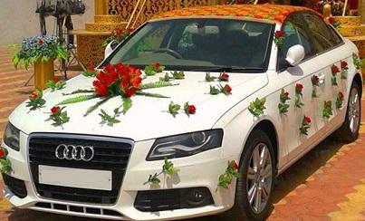 Audi A4 Wedding