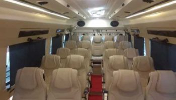 26 Seater Luxury Tempo Traveller