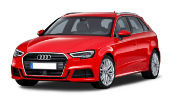 Audi A3 for wedding